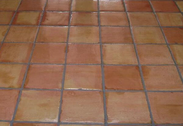 Removing saltillo tile videos dust free is possible for Spanish clay tile